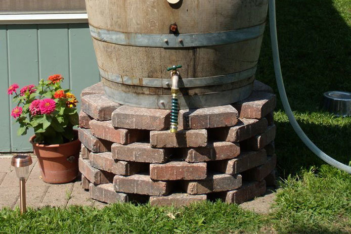 Rain Barrel Base